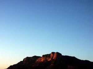 El Capitan and Sky, Last Light