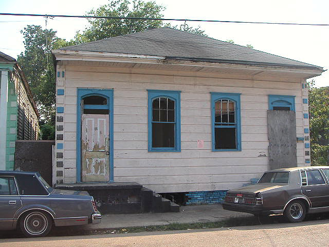 This was my sister's house in March 2005 prior to her moving into it and renovating it the first time.