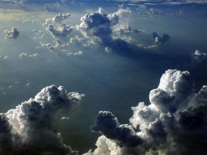 I observed these amazing towering cumulous clouds on our flight home from Baltimore to Oklahoma City.