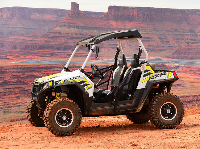 The Polaris Razor was the dominant off-road vehicle on the Hurrah Pass road.