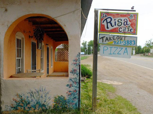 La Rise Café in Ribera, New Mexico was named The Sad Café in 1999.